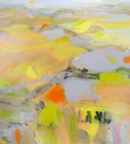 Ruth-le-Cheminant-Land-Sky-2015-acrylic-paint-on-canvas-100x90cm