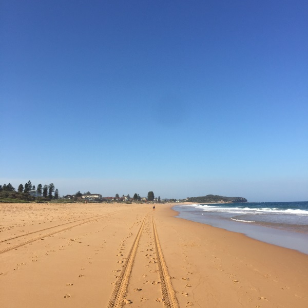 Ruth le Cheminant Summer holidays - Narrabeen Beach December 2015