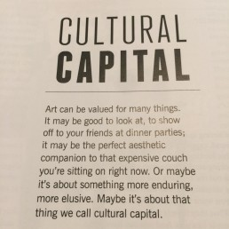 Ruth le Cheminant - Cultural Capital an article by Carrie Miller in @artcollectormagazine issue 75