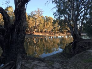 Journey to Mildura June 2017 Murrumbidgee River, Hay