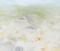 Ruth le Cheminant Edge of the Escarpment 2017 acrylic paint on canvas 51cm x 61cm