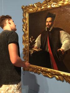 Michelangelo Merisi aka Caravaggio portrait of Maffeo Barberini
