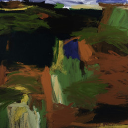 Ruth-le-Cheminant-Escarpments-and-Valleys-2017-acrylic-100x90cm