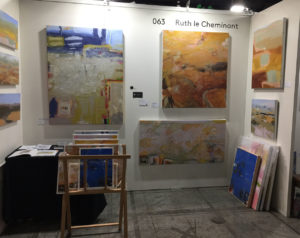 #thelittlegem stand #063 Ruth le Cheminant The Loaded Brush at TOAF 2019 was refreshed during the weekend