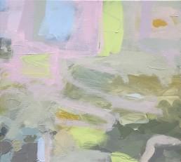 Ruth le Cheminant Covid19 Painting 8 2020 acrylic on canvas 46cm x 51cm