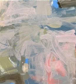 Ruth le Cheminant Covid19 Painting 10 2020 acrylic on canvas 51cm x 46cm