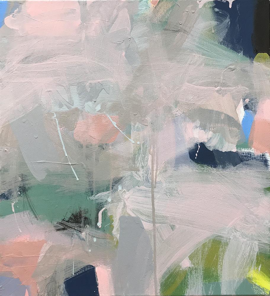 Ruth le Cheminant Covid19 Painting 12 2020 acrylic on canvas 51cm x 46cm