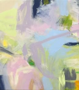 Ruth le Cheminant Covid19 Painting 18 2020 acrylic on canvas 51cm x 46cm