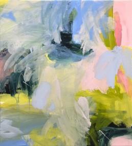 Ruth le Cheminant Covid19 Painting 16 2020 acrylic on canvas 51cm x 46cm